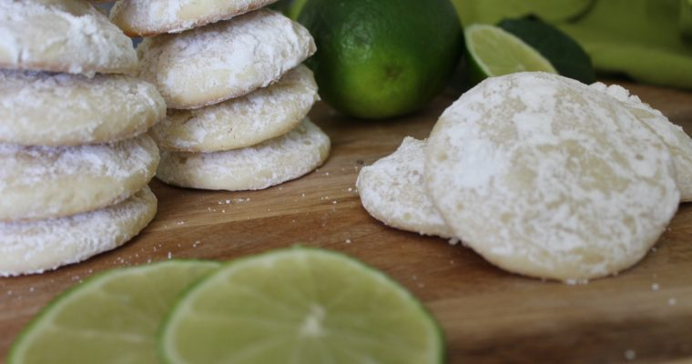Lime Cooler Cookies